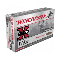 Winchester .243 Win. 100GR. PP
