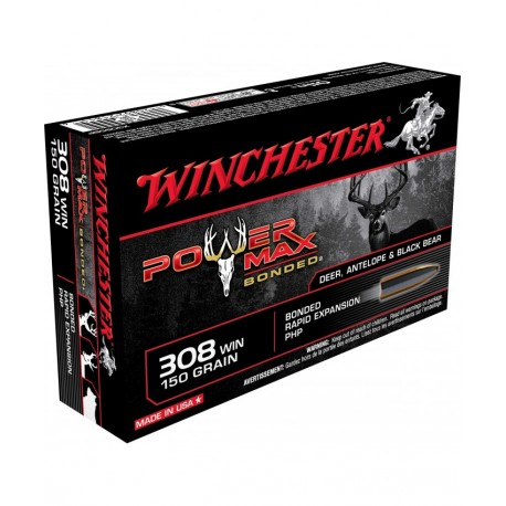 Winchester .308W 150GR. Power Max