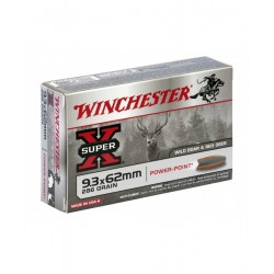 Winchester 9,3X62 286GR. Power Point