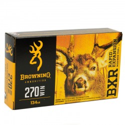 Browning .270Win 134GR. BXR