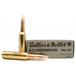 Sellior&Bellot 6.5 Creedmoor 156G FMJ