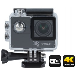 Camera Ultra HD 4K c/ LCD e Wifi