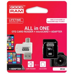 Adaptador OTG + SD Card 16Gb