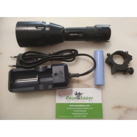 Kit Iluminador 850nm c/ Potenciómetro